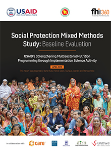 Social Protection Mixed Methods Study: Baseline Evaluation