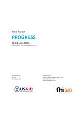 PROGRESS Final Report (Ethiopia)