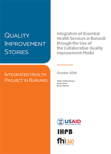 Integration of Essential Health Services in Burundi through the Use of the Collaborative Quality Improvement Model