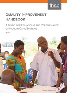 Quality Improvement Handbook: A Guide for Enhancing the Performance of Health Care Systems