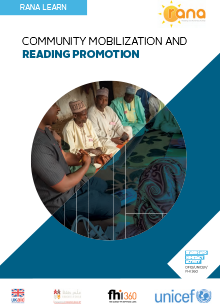 RANA Learn: Community Mobilization and Reading Promotion