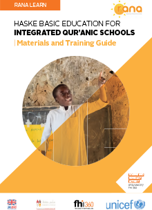 RANA Learn: Haske Basic Education for Integrated Qur'anic Schools — Materials and Training Guide
