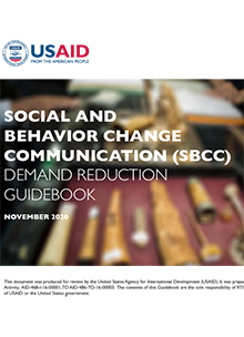 Social and Behavior Change Communication (SBCC) Demand Reduction Guidebook