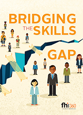 Bridging the Skills Gap (infographic)