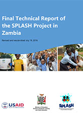 Final Technical Report of the SPLASH Project in Zambia