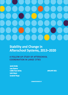 Stability and Change in Afterschool Systems, 2013–2020