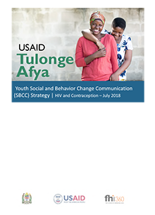 Youth Social and Behavior Change Communication (SBCC) Strategy - HIV and Contraception