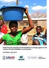 Exploring the Potential of Schoolchildren as Change Agents in the Context of School WASH in Rural Zambia: Final Report