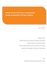 North Dakota Workforce Development Needs Assessment and Gap Analysis