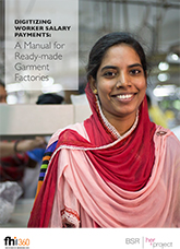 Digitizing Worker Salary Payments: A Manual for Ready-made Garment Factories