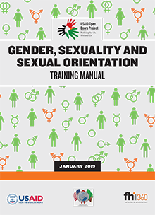 Gender, Sexuality and Sexual Orientation: Training Manual