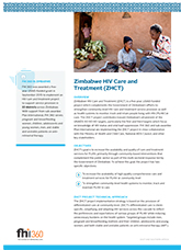 Zimbabwe HIV Care and Treatment (fact sheet)