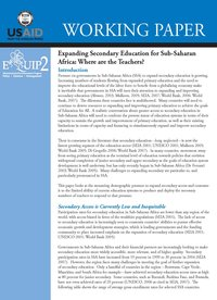 immigration position paper