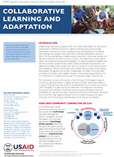No. 1: Collaborative Learning and Adaptation