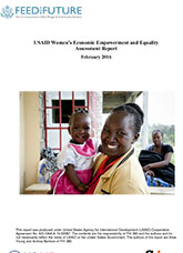 USAID Women's Economic Empowerment and Equality Assessment Report