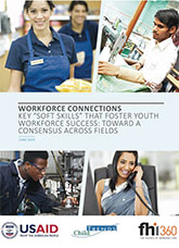 "Workforce Connections: Key ""Soft Skills"" that Foster Youth Workforce Success: Toward a Consensus Across Fields"