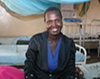 Irene Chemitei in the maternity ward with her newborn baby at the Emining Health Centre