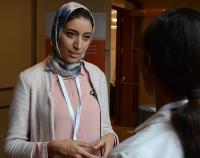 Asmae Mani, counselor at the University of Casablanca Career Center
