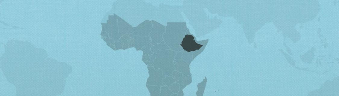 Ethiopia on map