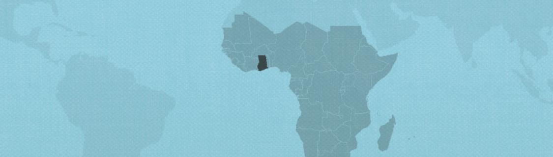 Ghana on map