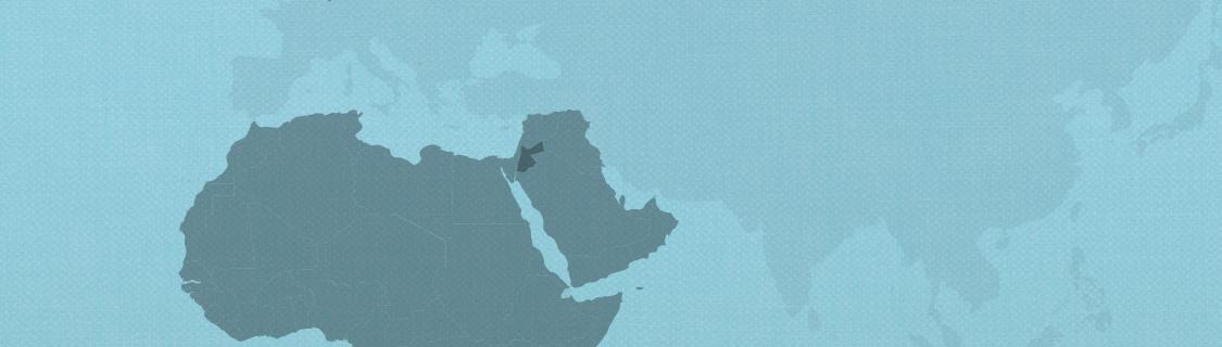 Jordan on map