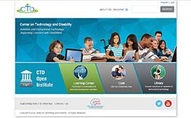 The Center on Technology and Disability