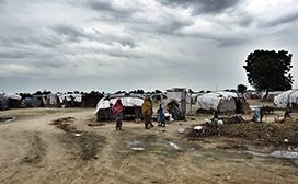 Internally Displaced Persons Camp in Borno State, Northeast Nigeria