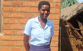 Isabel Ndindi, DREAMS Innovation Challenge participant, Zomba, Malawi