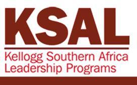 Kellogg Southern Africa Leadership (KSAL) program
