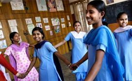 A study aims to keep girls in school
