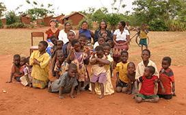 Community portrait in Malawi