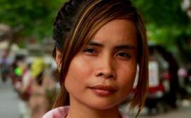 girl in Cambodia