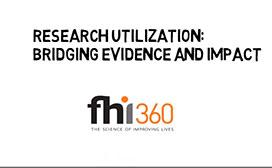 Research Utilization: Bridging Evidence and Impact