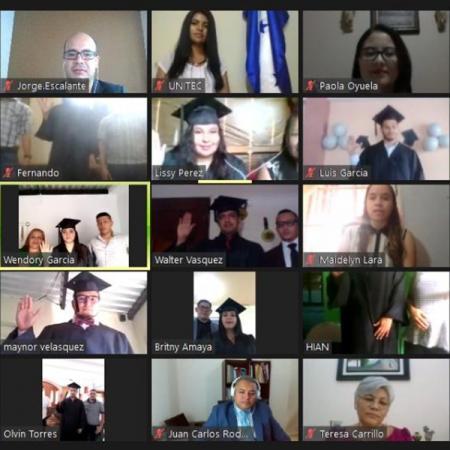 virtual graduation ceremony during COVID-19